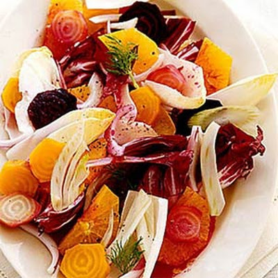 Orange Salad with Beets and Fennel
