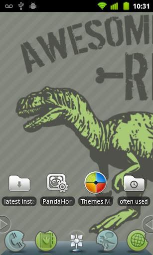 Awesomesaurus Rex Theme