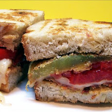 Fried Green Tomato and Bacon Sandwich