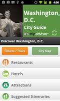 Screenshot of Washington DC City Guide