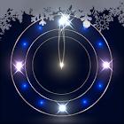 Snowy Night Clock L.Wallpaper icon