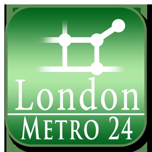 London tube (Metro 24) 旅遊 App LOGO-APP試玩