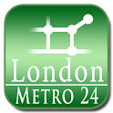 London tube (Metro 24) icon