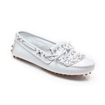 Andrea Montelpare Fringed Leather Moccasin SHOE