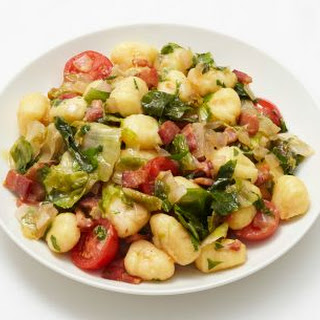 Gnocchi with Bacon and Escarole