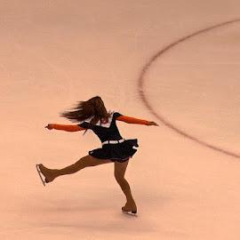 NY Isles Ice Girl by Kathryn Nagelberg - Sports & Fitness Ice hockey (  )