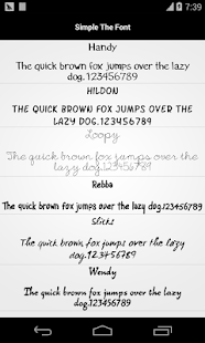Free Download Pencil Font for Flipfont Free APK for Samsung