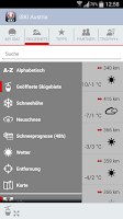 Screenshot of iSKI Austria