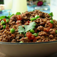 Kheema: Indian Ground Beef with Peas
