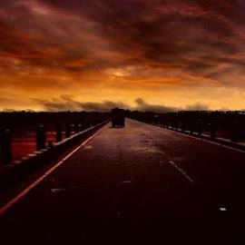 Volcanic Bridge by Sasikanth Balachandran - Landscapes Travel