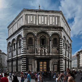 Baptistry, Florence by Rick McEvoy - Buildings & Architecture Places of Worship ( tuscany, florence, rick mcevoy photography, www.rickmcevoyphotography.co.uk, italy )