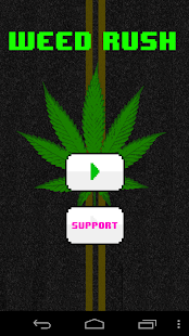 Weed CrossyRoad: Shmoney Dance - screenshot