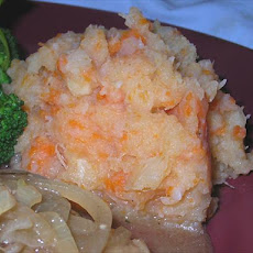 Mashed Root Veggies -