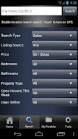 Screenshot of Fillmore Real Estate Mobile