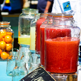 Punch at the Park by Judy Rosanno - Food & Drink Alcohol & Drinks ( punch, fruit drinks, jugs )