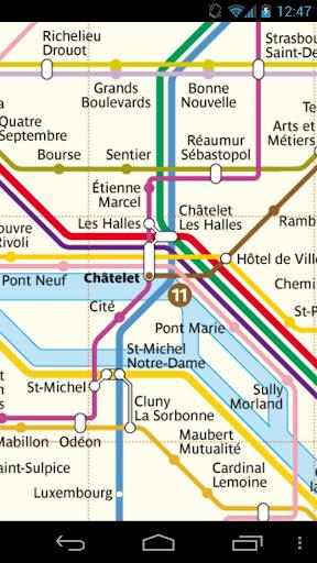 Paris Metro RER Tram Free