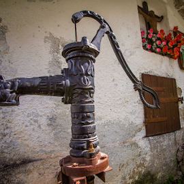 An old water pump by Stanislav Horacek - Buildings & Architecture Statues & Monuments