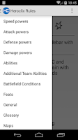 Screenshot of Heroclix Rules