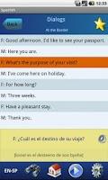 Screenshot of EasyTalk Learn Spanish