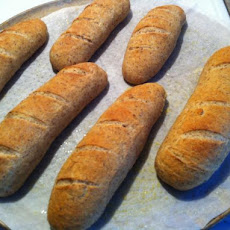 Crusty Whole Wheat Italian Bread