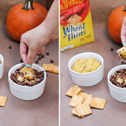 Pumpkin And Chocolate Dip {Halloween Snacks}