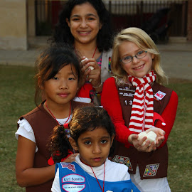Girl Scouts Earth Day by Tom Howes - News & Events World Events ( girls, scout, earth )