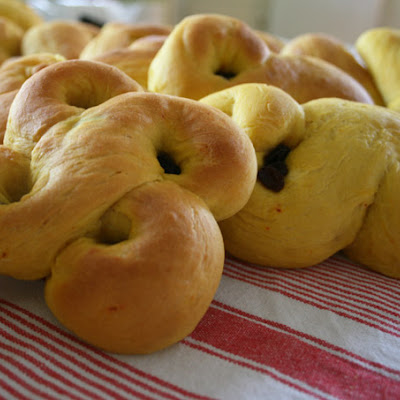 Swedish Vegan Saffron Buns