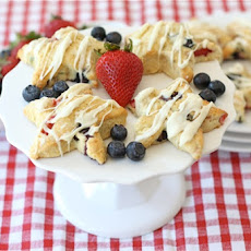 Red, White, & Blue Scones