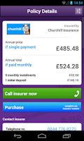 Screenshot of MS Car Insurance