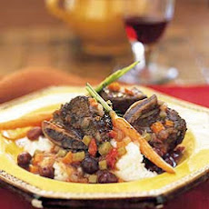 Short Ribs Provençale with Crème Fraîche Mashed Potatoes