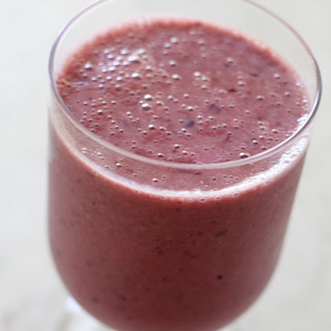 Cherry Soy Yogurt Smoothie
