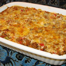 Inside out Stuffed Pepper Casserole