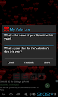 Screenshot of Valentine's Day Wallpaper