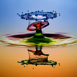 waterdrop by Muhammad Berkati - Abstract Water Drops & Splashes ( abstract, macro, waterdrops )