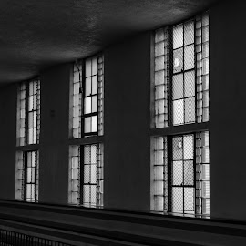 Windows by Daniel Hopkins - Buildings & Architecture Other Interior ( old, shadow, windows, light,  )