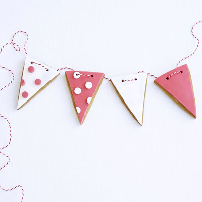 Bunting Biscuits