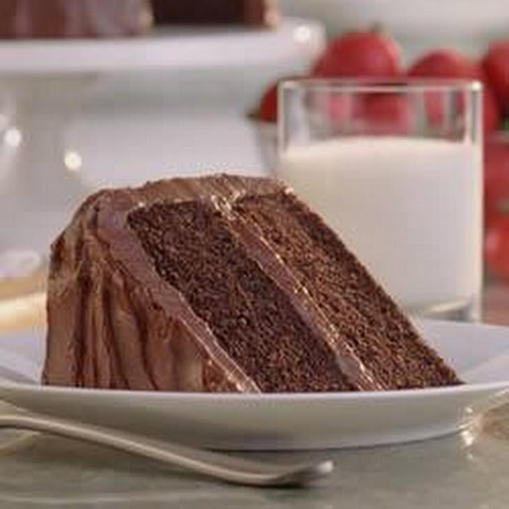 Daisy Brand Sour Cream Chocolate Cake
