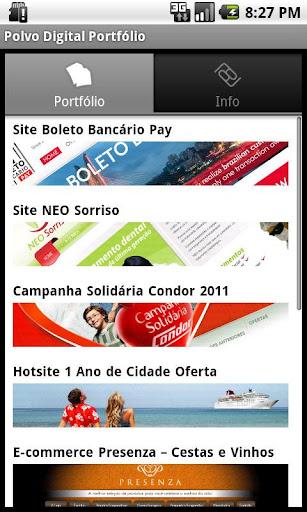【免費商業App】Polvo Digital Portfolio-APP點子