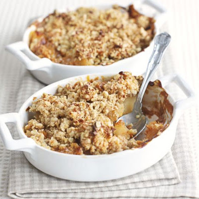 Caramel Apple Crumble