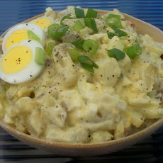 Kittencal's Warm Potato Salad With Eggs
