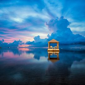 .:: feeling blue ::. by Setyawan B. Prasodjo - Landscapes Sunsets & Sunrises