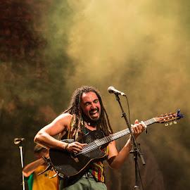Shredding It! by Paul-Sam Freeman - People Musicians & Entertainers ( music, concert, jammin, reggae, sauti, sauti za busara, guitar, djimawi africa )