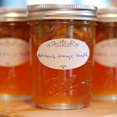 Rhubarb Orange Vanilla Jam