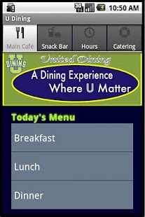 U Dining - screenshot