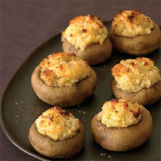 Garlic-Stuffed Mushrooms