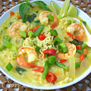 Ramen Noodle Thai Basil Soup (Throwback Thursday)