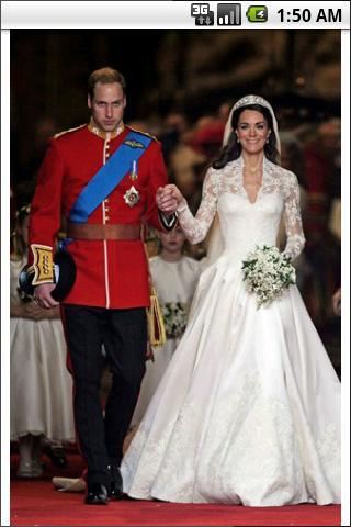 Kate Weds William