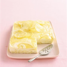 Lemon Curd Cheesecake Slice