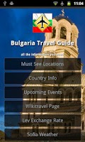 Screenshot of Bulgaria Travel Guide