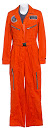 Zoe Barnes Orange ISO Flight Jumpsuit